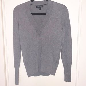 Banana Republic Grey Silk/Cotton/Cashmere Sweater